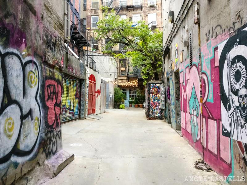 Las calles más bonitas de Nueva York - Freeman Alley Lower East Side