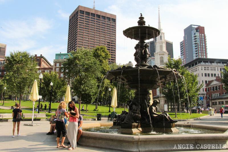 Qué ver en Boston en una excursión desde Nueva York - Boston Commons