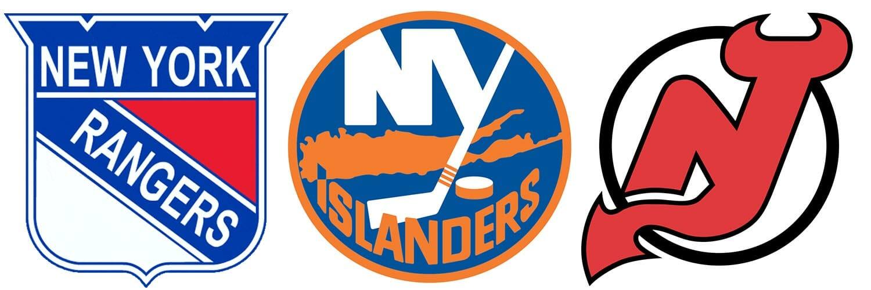 Equipos de hockey sobre hielo en Nueva York - Rangers Islanders y Devils