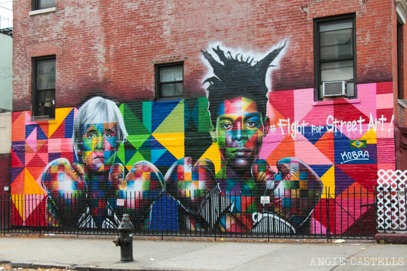 Guía de Williamsburg, Brooklyn - Arte urbano y mural de Kobra