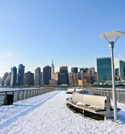 Qué hacer en enero en Nueva York - Gantry Plaza State Park