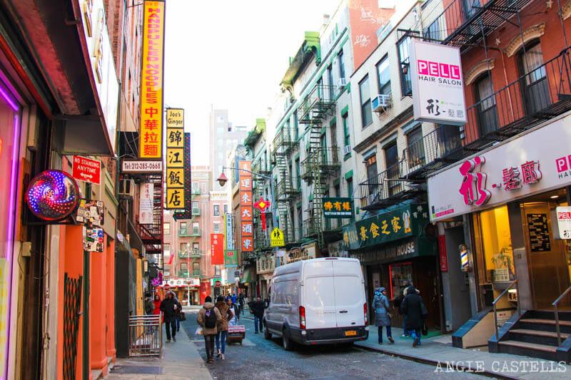 Qué hacer en enero en Nueva York - Chinatown