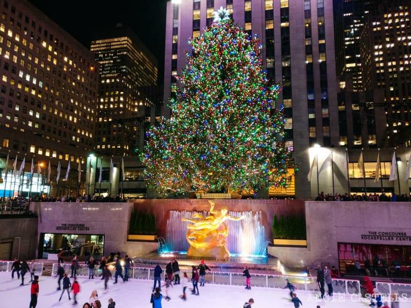 Qué hacer en Navidad en Nueva York - Árbol del Rockefeller Center