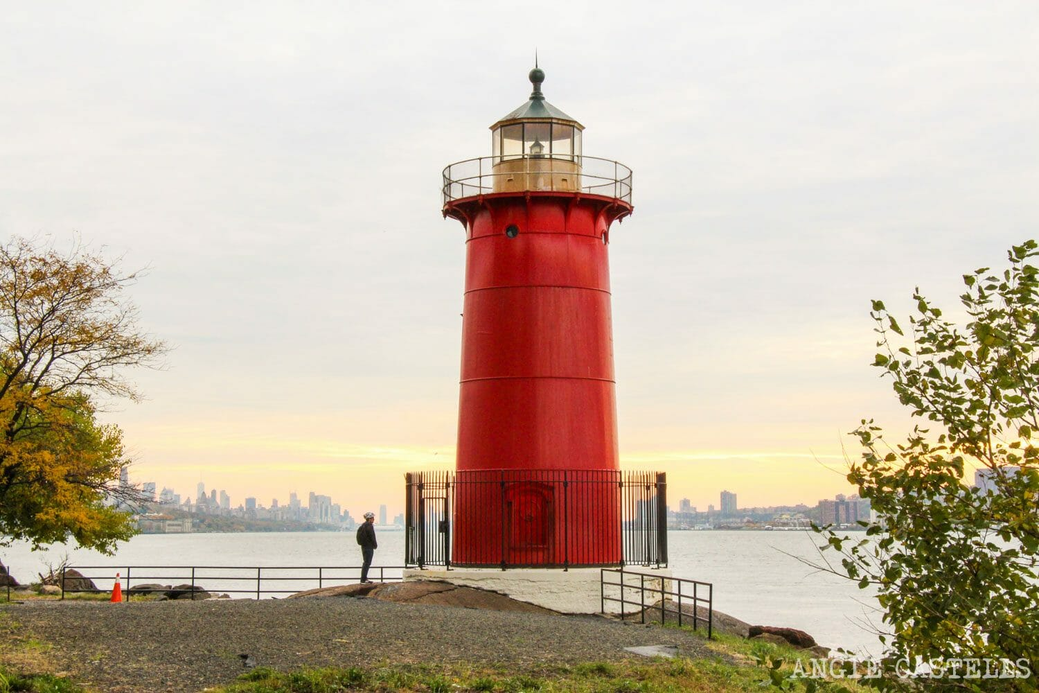 Lugares secretos de Nueva York - Little Red Lighthouse puente George Washington