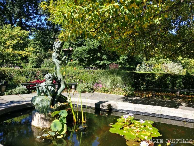 Lugares secretos de Nueva York - Jardin Conservatory Garden Central Park