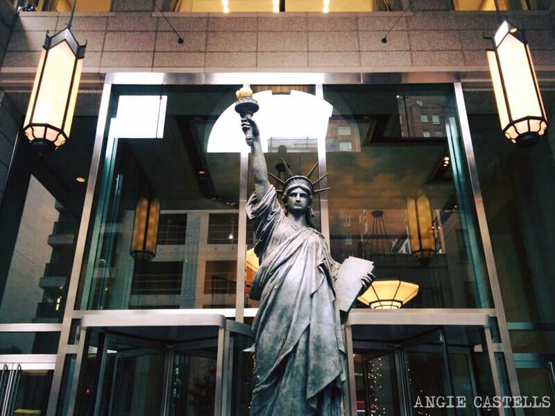 Lugares secretos de Nueva York - Replica Estatua de la Libertad