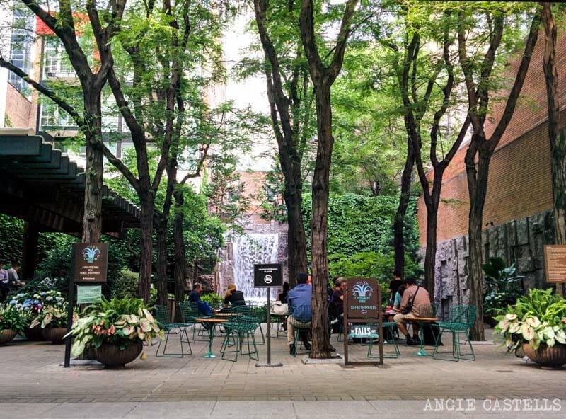 Lugares secretos de Nueva York - Greenacre Park
