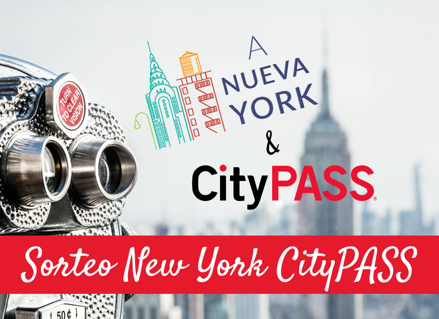 Sorteo New York CityPASS
