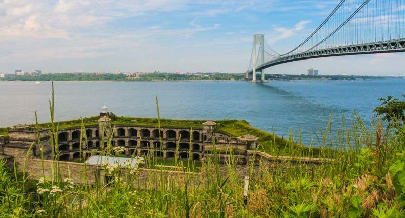 Qué hacer en Staten Island - Fort Wadsworth y Verrazano Narrows Bridge 1500