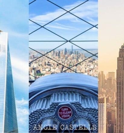 Empire State Building, Top of the Rock y One World - ¿Cuál elegir?