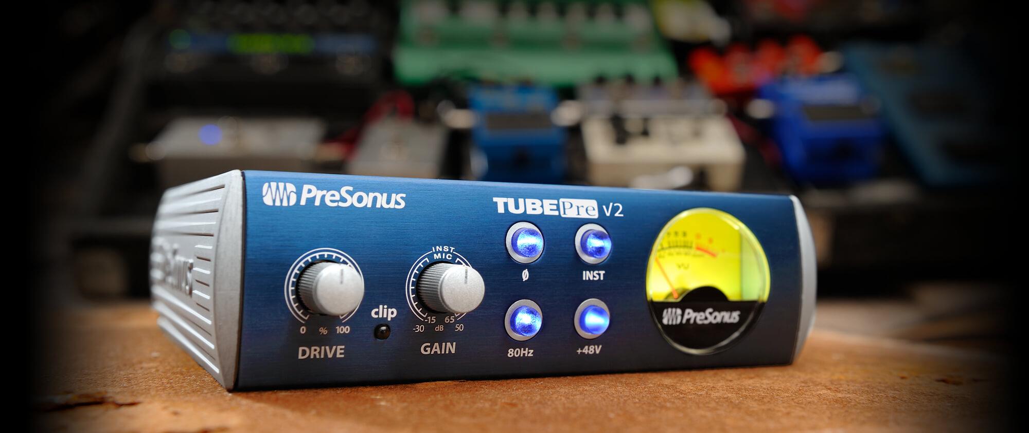 TubePre V2 - Przedwzmacniacz Mikrofonowy
