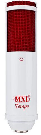 TEMPO WR - Mikrofon pojemnościowy USB Biały