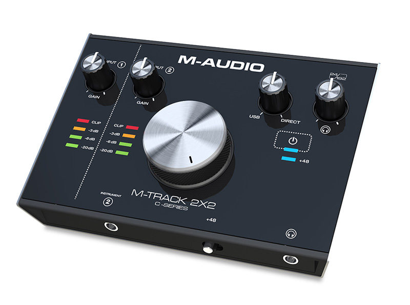 M-TRACK 2x2 - Interfejs Audio USB