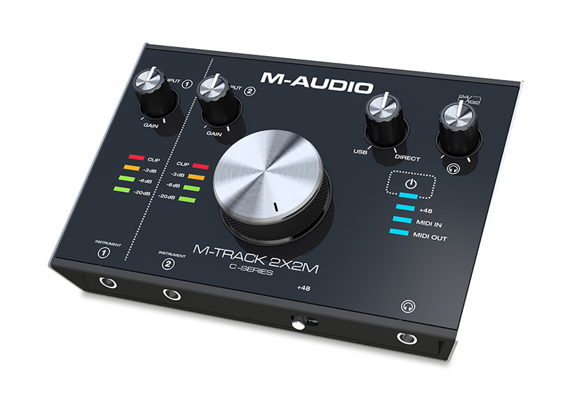 M-TRACK 2x2M - Interfejs Audio USB