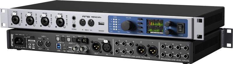 FireFace UFX+ - Interfejs Audio USB/Thunderbolt