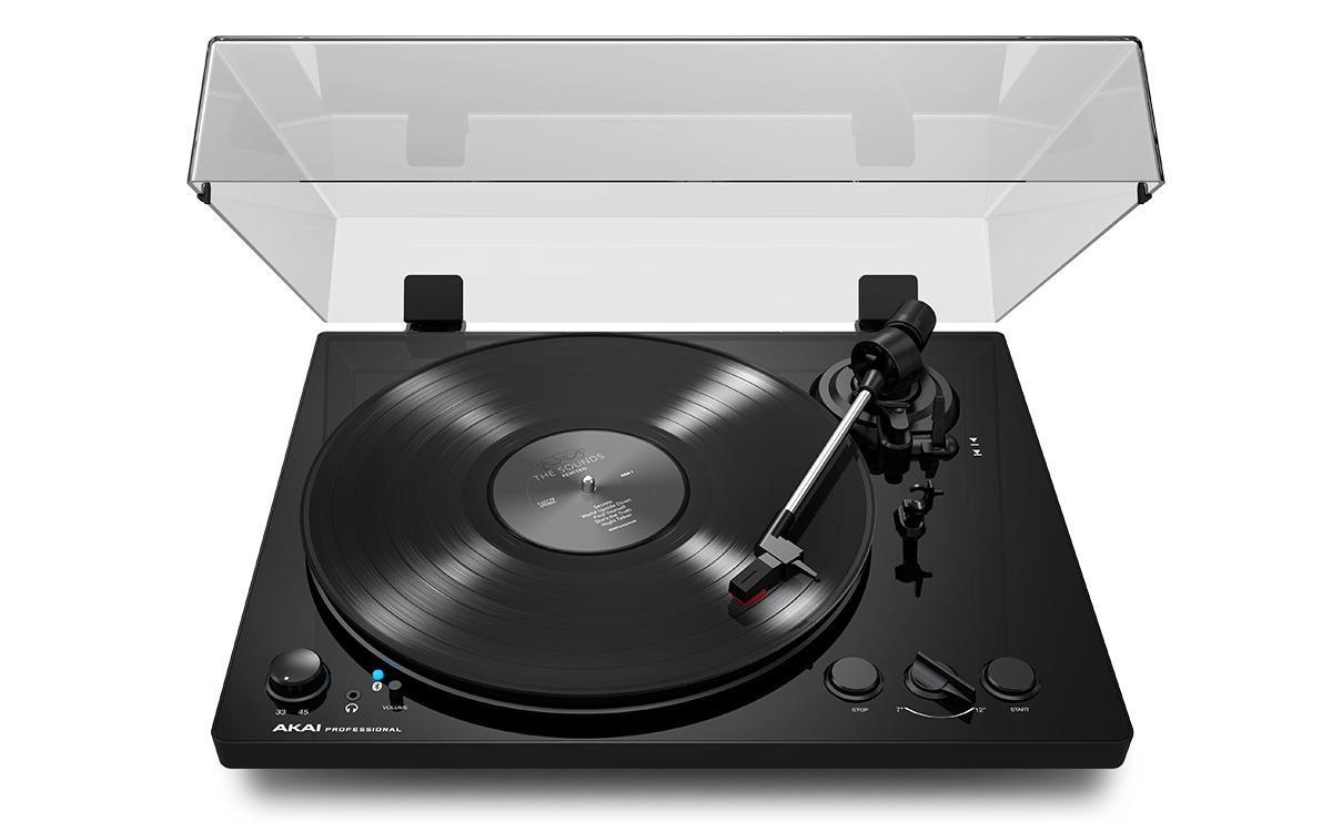BT500 BLACK - Gramofon o Napędzie Paskowym