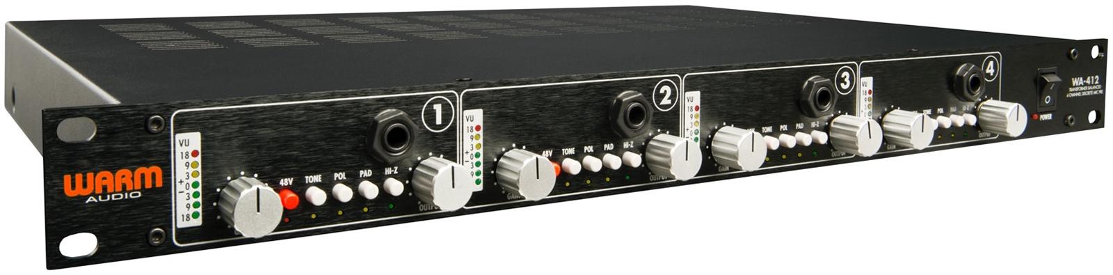 WA-412 - 4-kanałowy Preamp Mikrofonowy