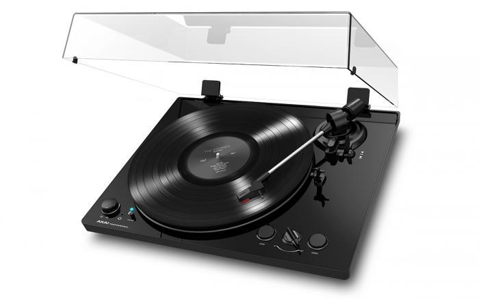 BT100 BLACK - Gramofon o Napędzie Paskowym
