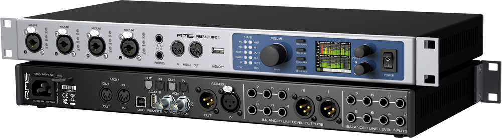 FireFace UFX II - Interfejs Audio USB