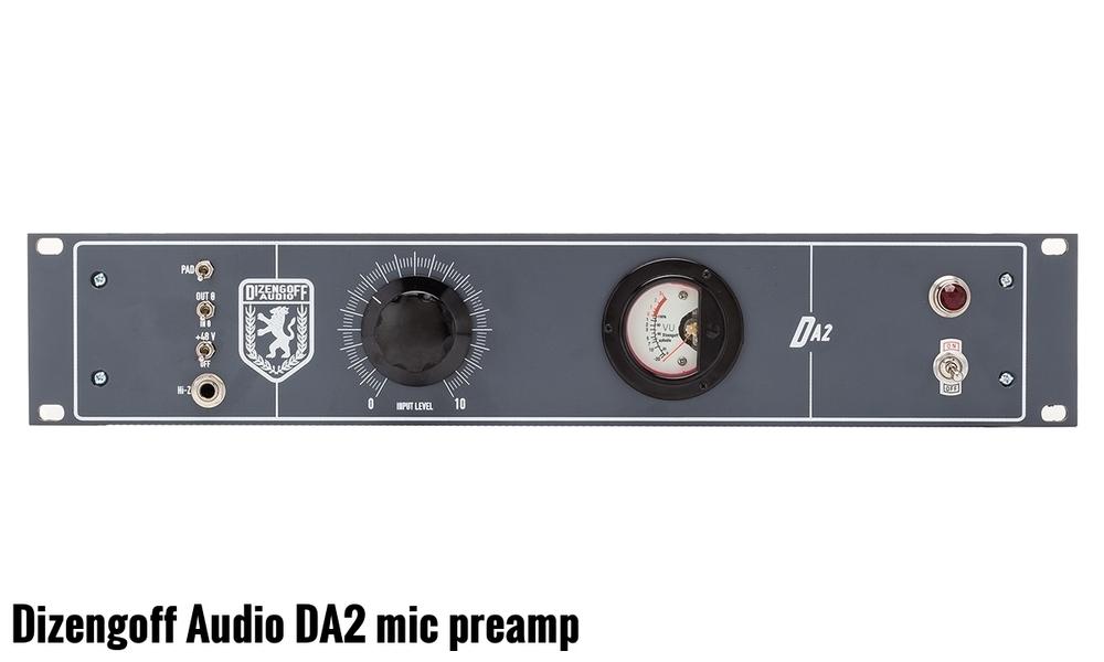 DA2 - Preamp Mikrofonowy