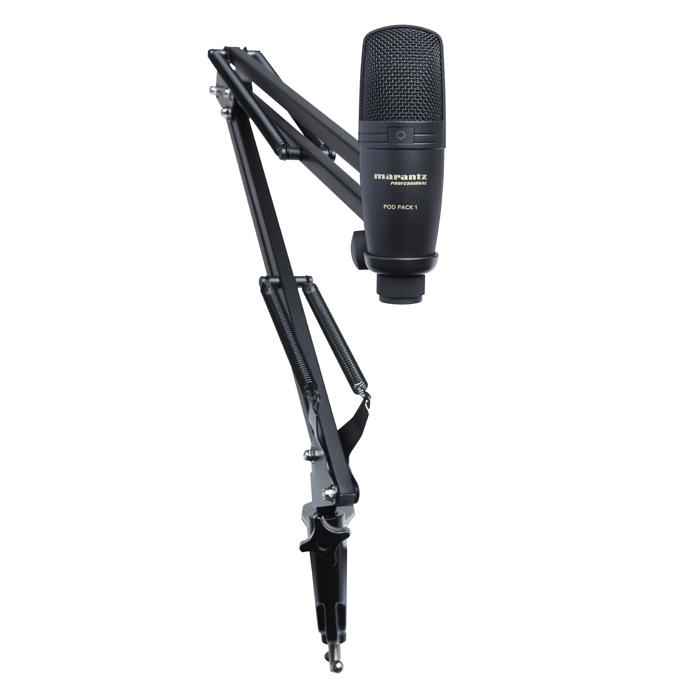 PODPACK1 - Mikrofon USB + Uchwyt