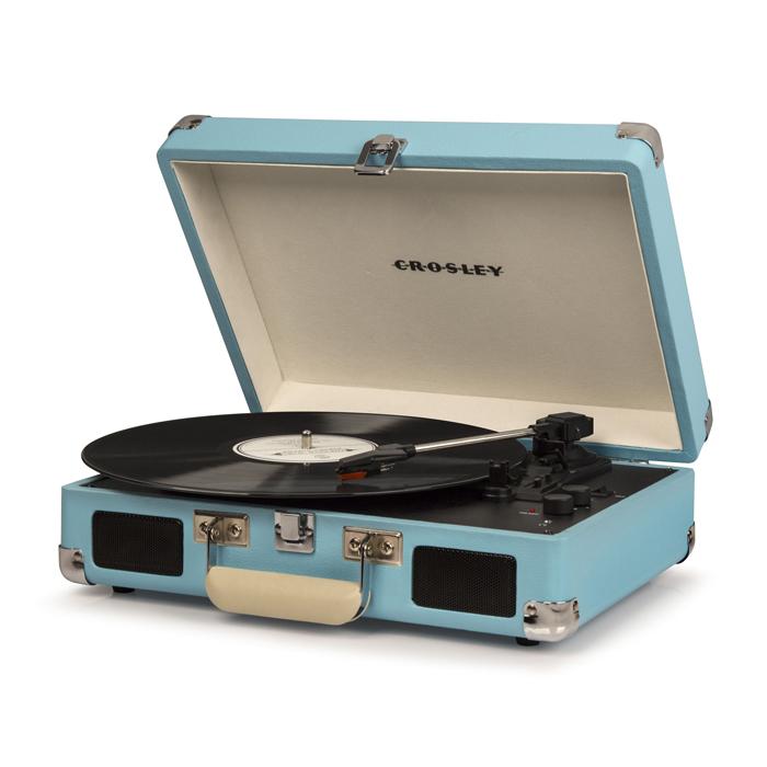 CRUISER DEL TURQUOISE - Przenośny Gramofon