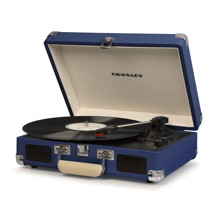 CRUISER DELUXE BLUE - Przenośny Gramofon