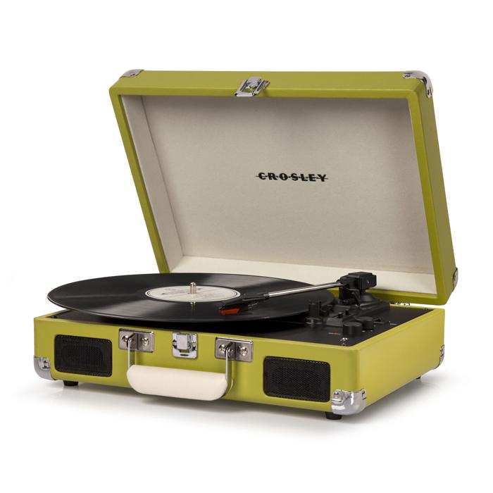 CRUISER DELUXE GREEN - Przenośny Gramofon