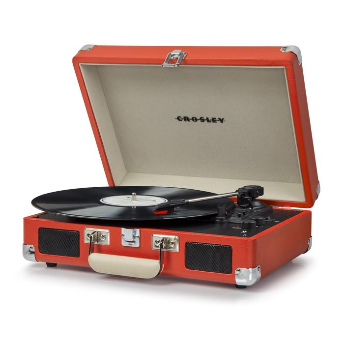 CRUISER DELUXE ORANGE - Przenośny Gramofon