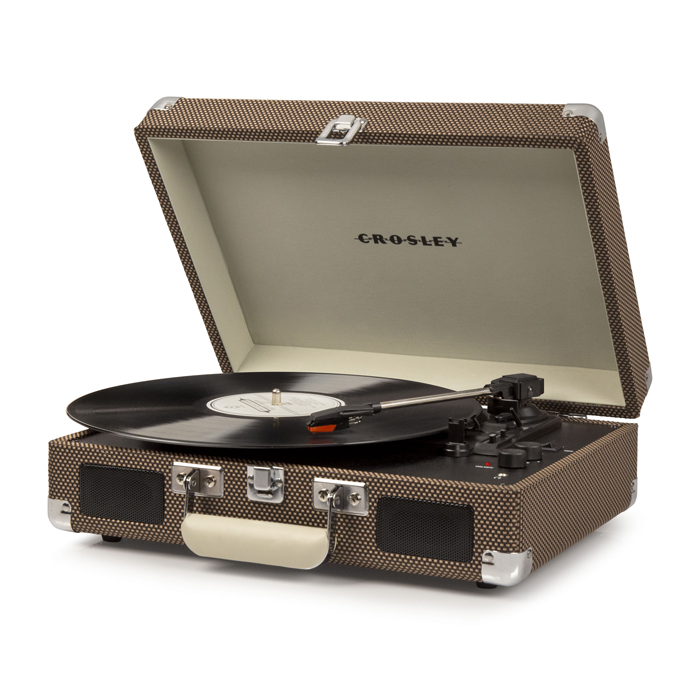 CRUISER DELUXE TWEED - Przenośny Gramofon