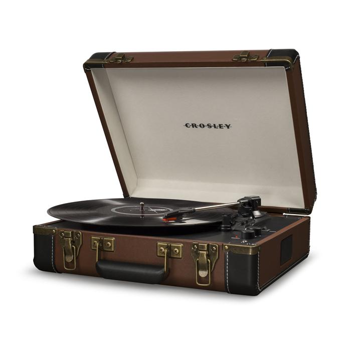 EXECUTIVE BROWN - Przenośny Gramofon
