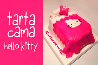 Información Aprende a elaborar una tarta de Hello Kitty