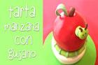 Aprende a elaborar una Tarta en forma de Manzana con Gusano