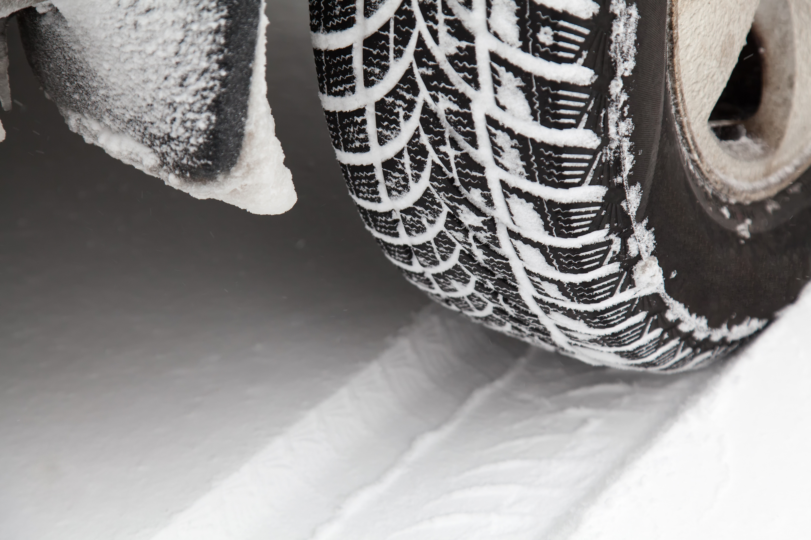 Winter Tyres on Snow