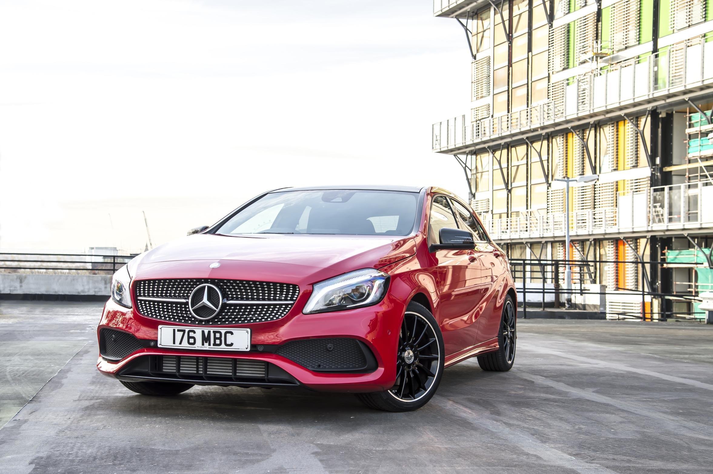 Red Mercedes-Benz A -Class