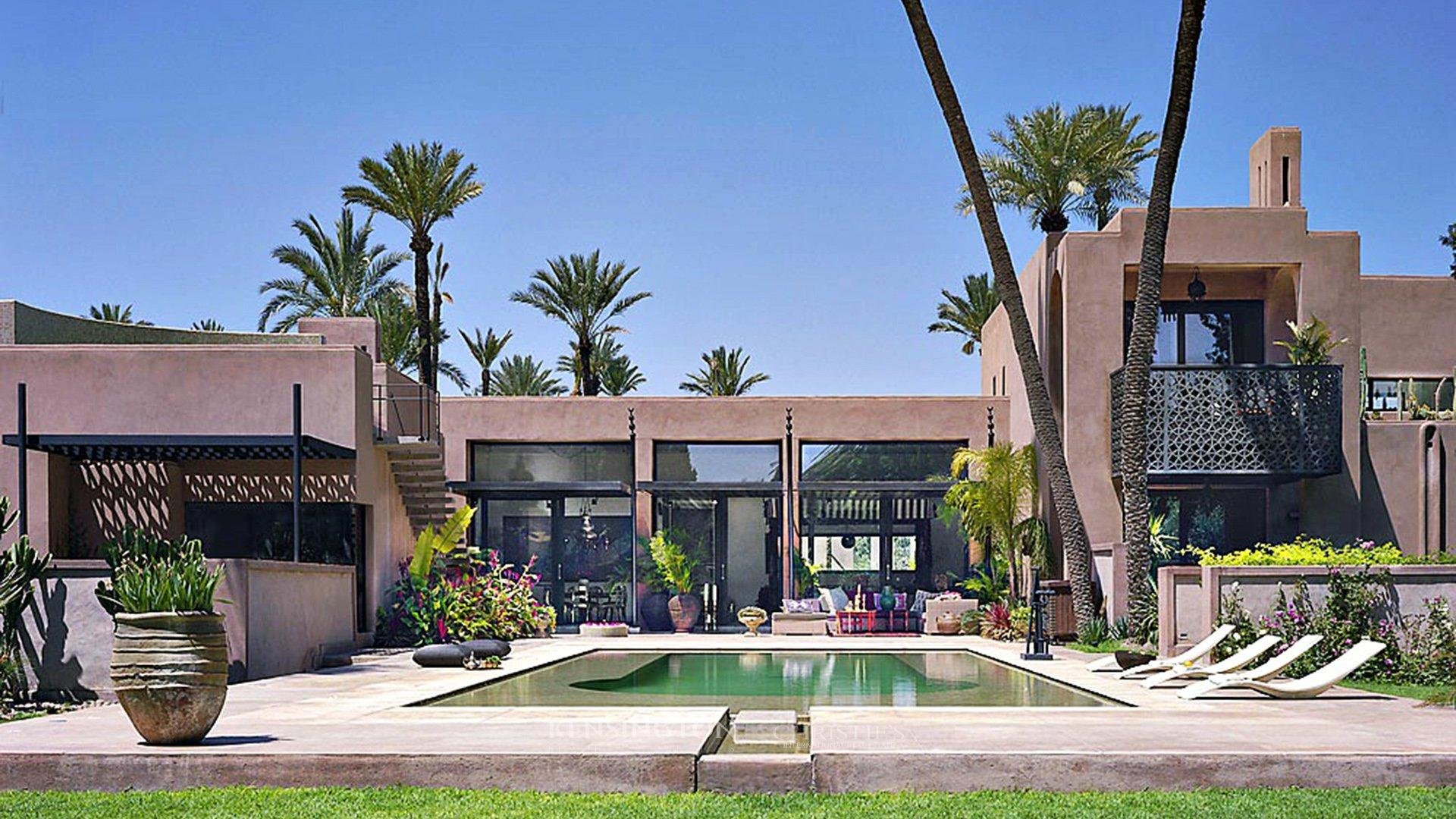 Villas de luxe vendre au maroc kensington maroc for Architecture traditionnelle scandinave