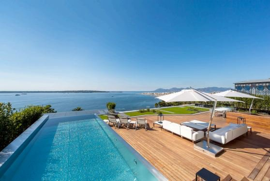 5 bed penthouse; Cannes Californie