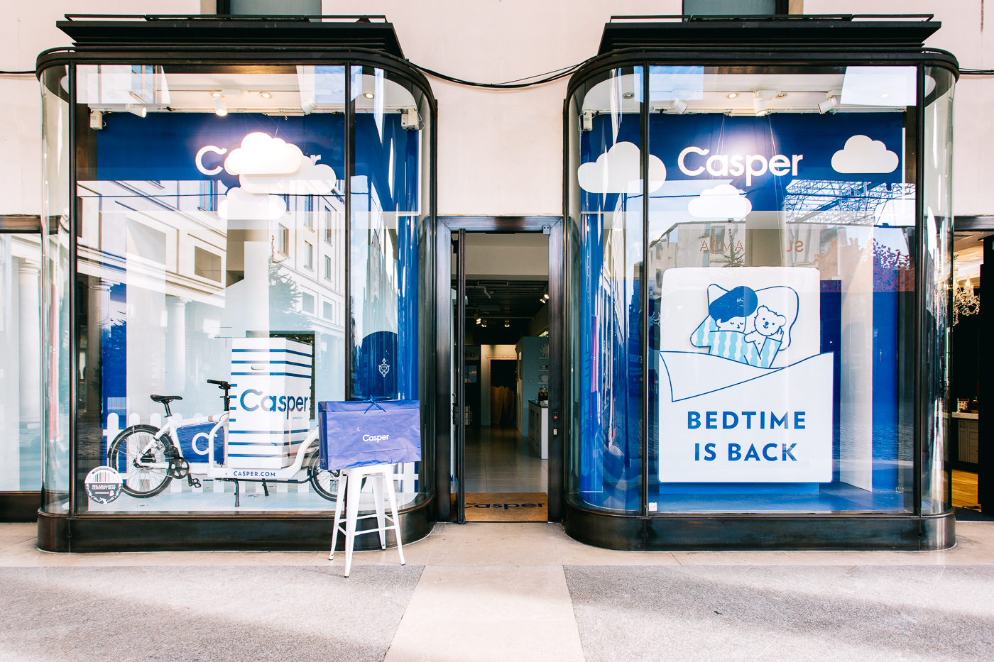 Casper pop-up