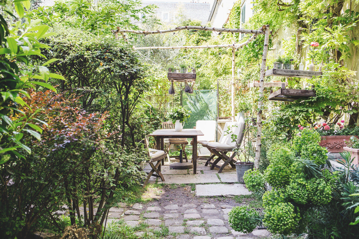 Jardin de la Maison de Vacances de My Little Paris