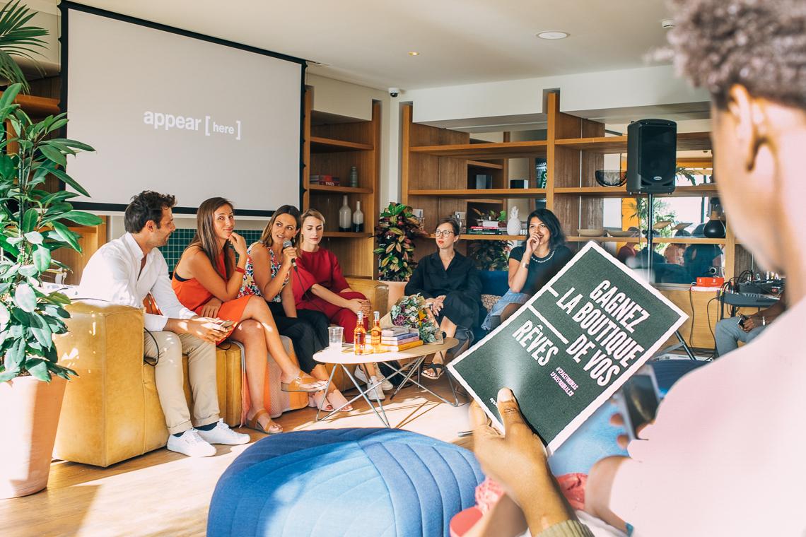 Panel d'experts à l'Underground Session à WeWork Paris