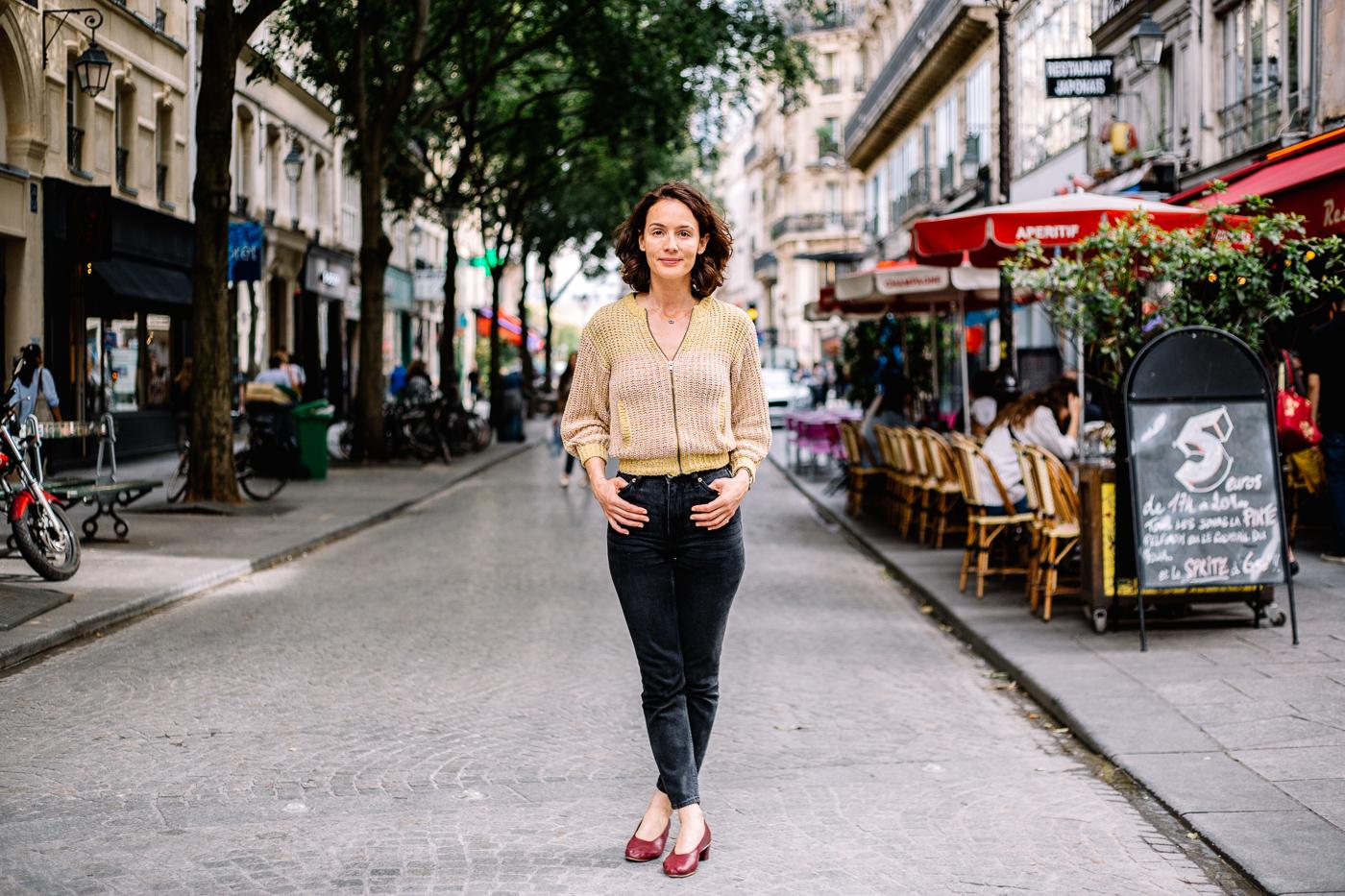 Sophie Rioufol rue Montmartre