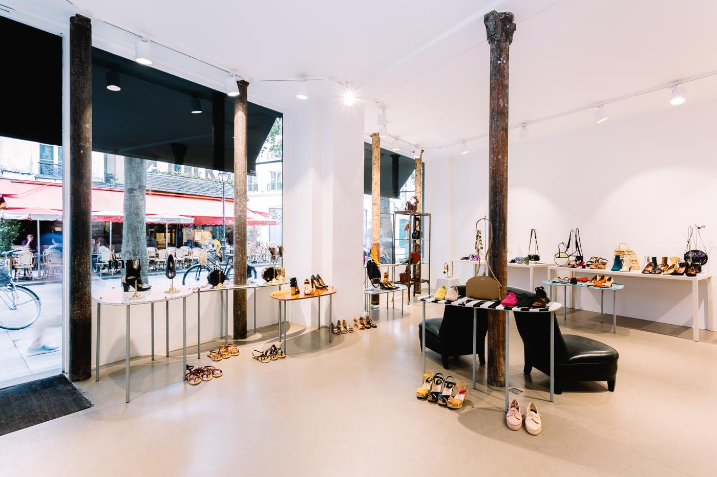 intérieur de la boutique 58  M