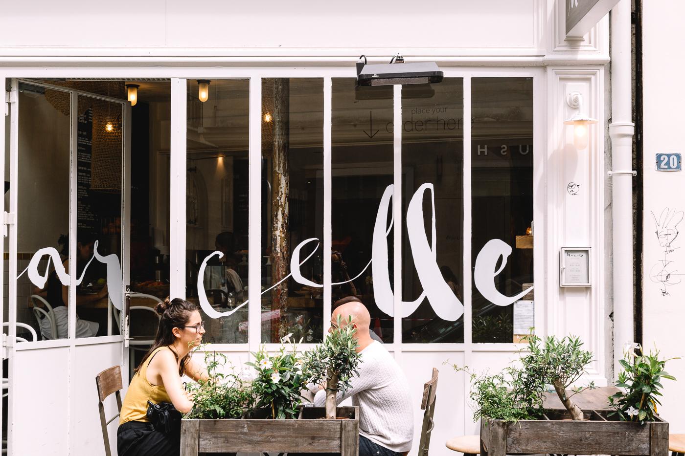 Le restaurant Marcelle à Etienne Marcel