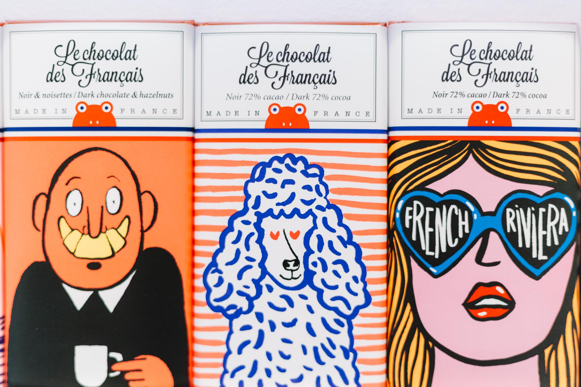 3 Tablettes Le Chocolat des Français