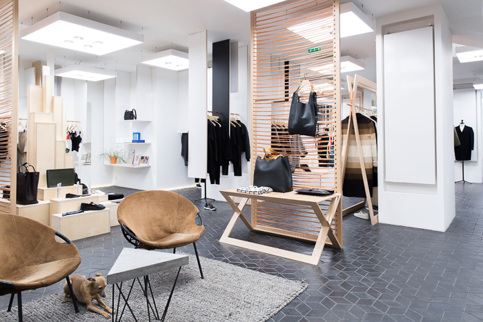 Concept-store Tom Greyhound à Paris