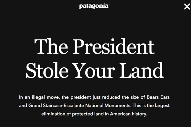"The President Stole Your Land"" campaign"