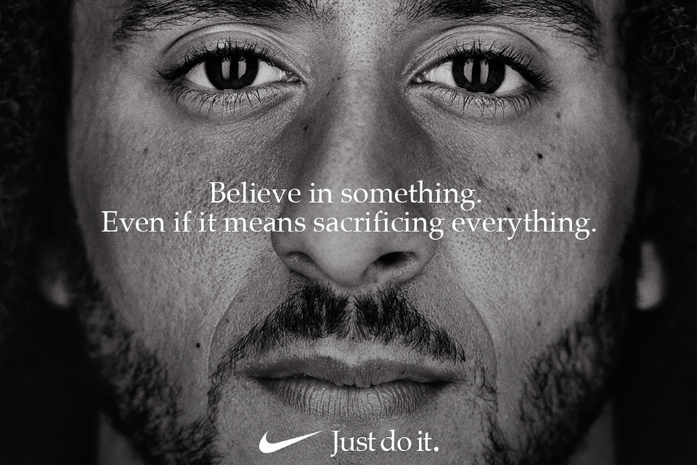 Nike's campaign with Colin Kaepernick