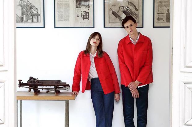 Veste workwear de la marque Le Mont St Michel