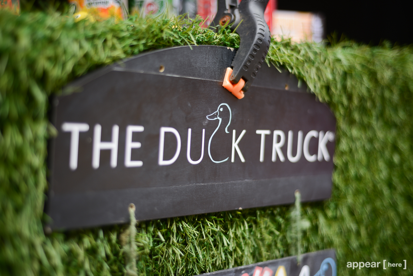 Duck Truck Fenchurch Market Stall