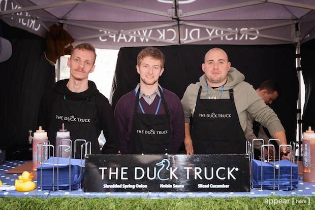 Duck Truck at Fenchurch Market